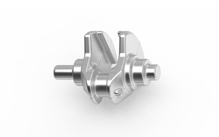 Albero monocilindrico in acciaio