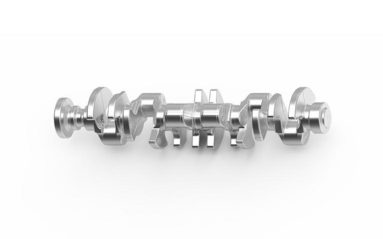 Albero motore 12 cilindri acciaio